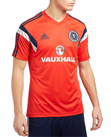 2014 Scotland Training Shirt Red - Adult