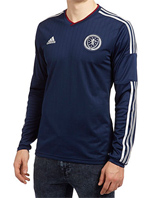 Scotland Home Longsleeved Shirt 2014 - Adult