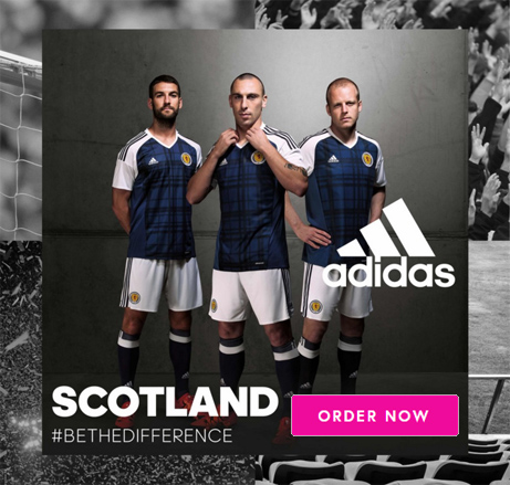 Order the new Scotland Home Kit now