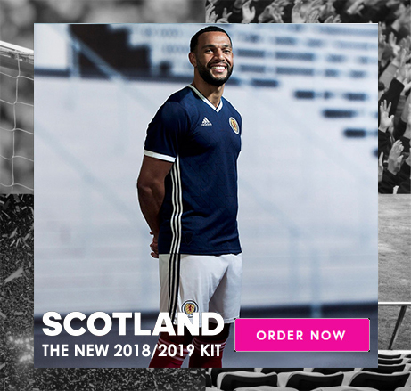 Order the new Scotland Away Kit now