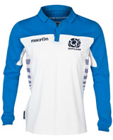 Scotland Rugby Cotton Away Shirt 2013 14 Long Sleeved
