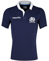 Scotland Rugby Cotton Home Shirt 2013 2015
