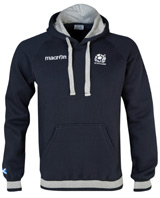 Scotland Rugby Heavy Cotton Hoody Navy