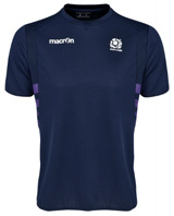 Scotland Rugby Training TShirt Navy